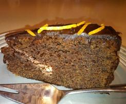 Jaffa Fudge Cake