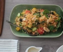 Warm Chicken, Pumpkin and Couscous Salad