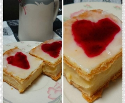 Hunters Valentine's Vanilla Slices