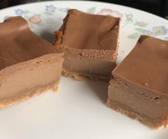 Cadbury Dairy Milk Chocolate Fudge Slice