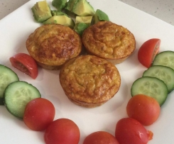 GF Hidden Veggie Egg Muffins