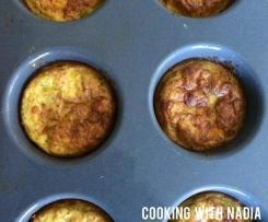 Nadias' Zuchinni Muffins and Slice