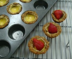 Anzac Lime Tartlets