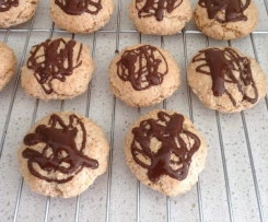 Almond Chocolate Macaroons