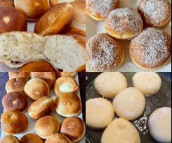 Krofne (Soft and fluffy Doughnuts)