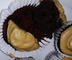 Black Russian Cupcake and Kahlua Buttercream Icing