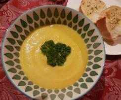 Cauliflower and brocolli soup