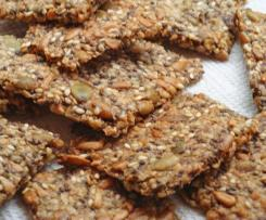 The BEST Sesame Crispbread (LCHF, GF, NF)