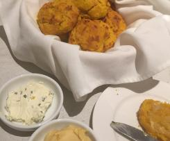 Pumpkin and Parmesan Scones