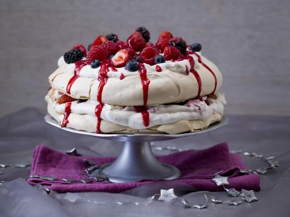 Mixed Berry Pavlova Stack By Thermomix In Australia A Thermomix