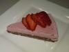Gluten Free, Dairy Free Raw Strawberry Cheesecake