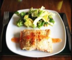 Sous Vide Citrus infused Tasmanian Salmon