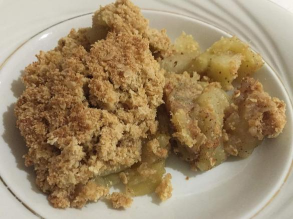 apple crumble by tracy 39 s thermomix a thermomix recipe in the category desserts sweets on. Black Bedroom Furniture Sets. Home Design Ideas