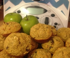 "Easy ""pantry staple"" apple and veggie muffins"