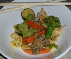 Steamy Pork & Vegetable Stir-fry