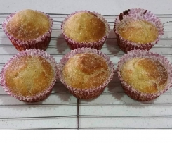 Steamed Dairy Free Donut Cupcakes