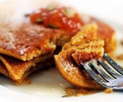Gluten-Free Pumkpin Pancakes