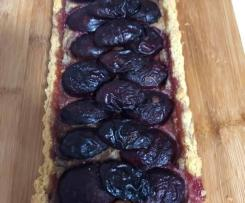GLUTEN FREE NO ADDED SUGAR PLUM TART