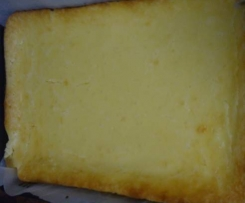 Baked Lemon Cheesecake Slice