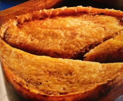 potato torte with Sauerkraut