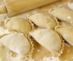 Pierogi ~ Traditonal Polish Meat Filled Dumplings
