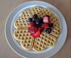 Vanilla Gluten Free Waffles