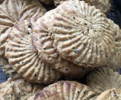 Lebanese Eid Biscuit Kaak Alkhamees Mr2od Ka'ak Black Seed