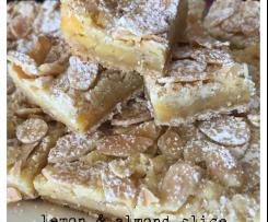 Lemon and Almond Slice