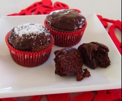 Chocolate Chia Fudge Cakes