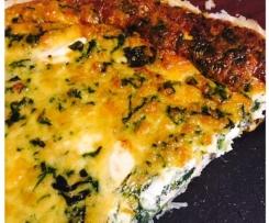 Spinach Feta and Mushroom Pie