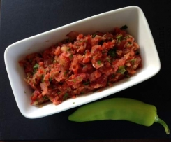 Fresh Tomato and Banana Chilli Salsa