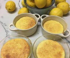 Lemon Bundino ( Italian lemon pudding)