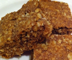 Apple Oat Slice - Wheat free; Egg free; Vegan