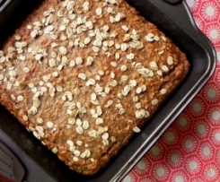Banana, Oat  Breakfast Cake
