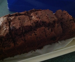 Chocolate Banana Date Loaf