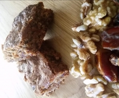 date and walnut slice