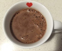 Coconut cacao latte