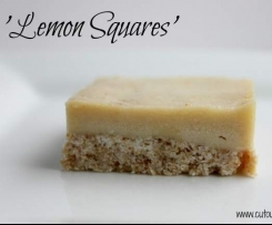Lemon Squares from COTC