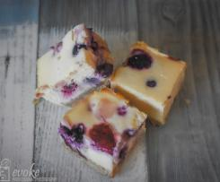 Very Berry Cheesecake Slice