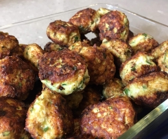 Chicken and feta meatballs