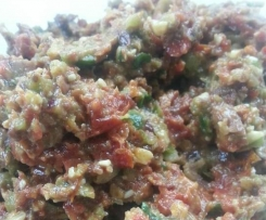 Mediterranean bruschetta (dip)