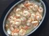 Creamy Garlic Prawns