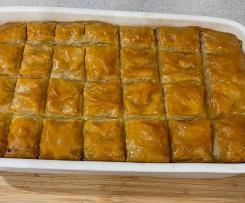 Galaktoboureko - Greek Vanilla Slice