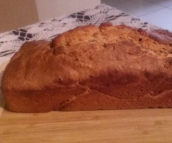 Sourdough Banana Bread (refined sugar, dairy and egg free)