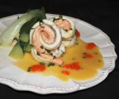 Steamed Fish with Lemon Myrtle Chive Beurre Blanc