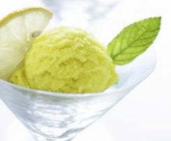 Apple and Lemon Zest Sorbet