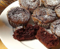 Nutella Brownie Cupcakes