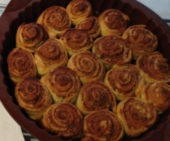 Cinnamon/Nut/Maple Syrup Scrolls