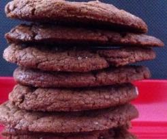 Easy Fudgy Nutella Cookies