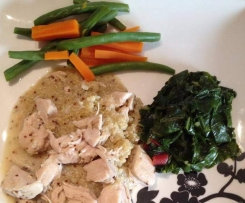 Maple Mustard Chicken (low FODMAP, gluten free)